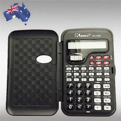 Electronic Handheld LCD Scientific Calculator School Office Function EWCAL 1055