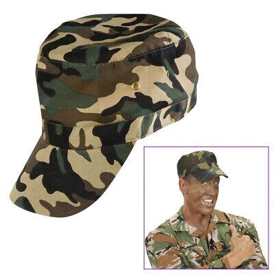 MILITÄR CAP # Karneval Fasching Soldat Armee Kostüm Kappe Mütze Hut Basecap 3371 ()