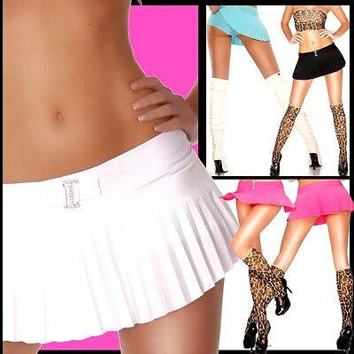 Plissee Strass (★SEXY PLISSEE PUSSYCAT MinirocK mit PANTS u.STRASS!★HOT)