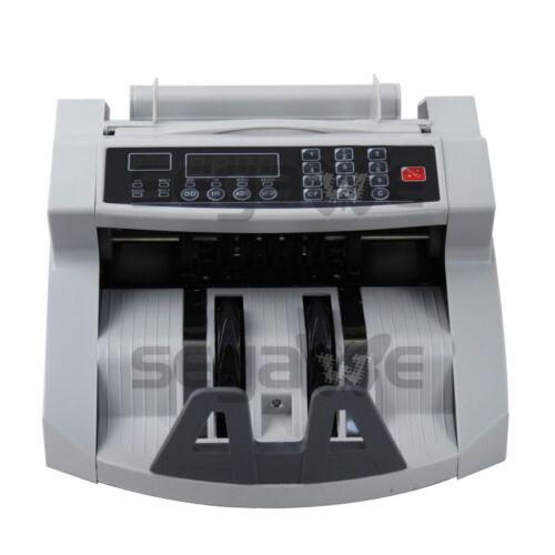 Money Bill Counter Machine Cash Counting Counterfeit Detector UV MG Bank Checker Bill Counters