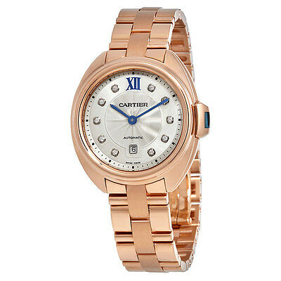 Cartier Cle Automatic Ladies Watch WJCL0034
