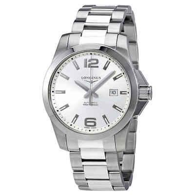 Longines Conquest Automatic Silver Dial Men's Watch L3.778.4.76.6