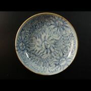 Antique Blue China Plates