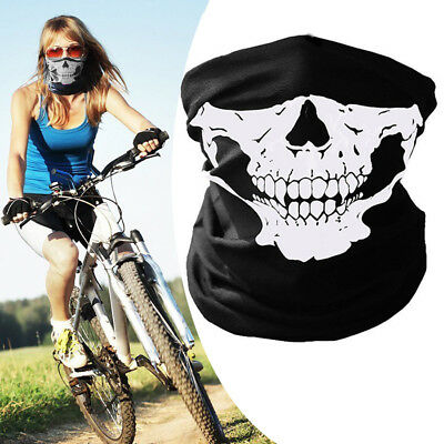 New Skeleton Ghost Skull Face Mask Biker Balaclava Costume Halloween Cosplay](Biker Halloween Costume)