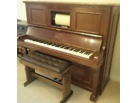 Pianola for sale - needs some attention but lovely sounding instrument
