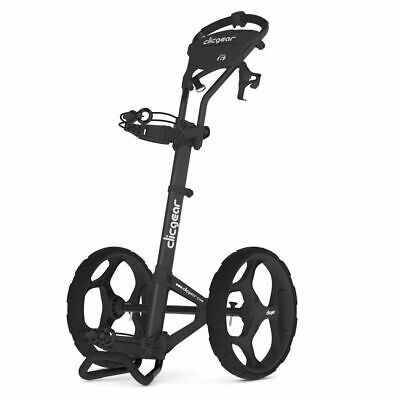 New Clicgear USA Model 6.0 plus Push-Pull Golf Cart for walking - Black Charcoal