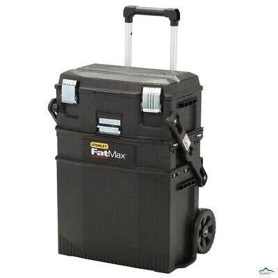 Stanley FATMAX 22 in. 4-in-1 Cantilever Tool Box Mobile Work Center Storage (Stanley Fatmax Toolbox)