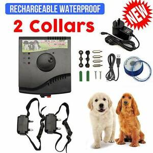 2-Dogs Electric Hidden Waterproof Dog Fence System Rechargeable West Melbourne Melbourne City Preview