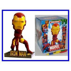 Iron Man Bobble Buddies Marvel Heroes Bobblehead UK Seller