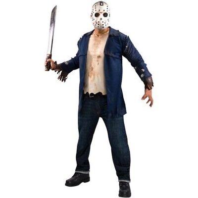 Herren Erwachsene Friday The 13th Jason Voorhees Kostüm