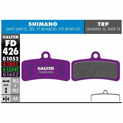 Almohadillas Mezcla Violeta E-Bike Para Frenos Shimano Saint - Zee - XTR