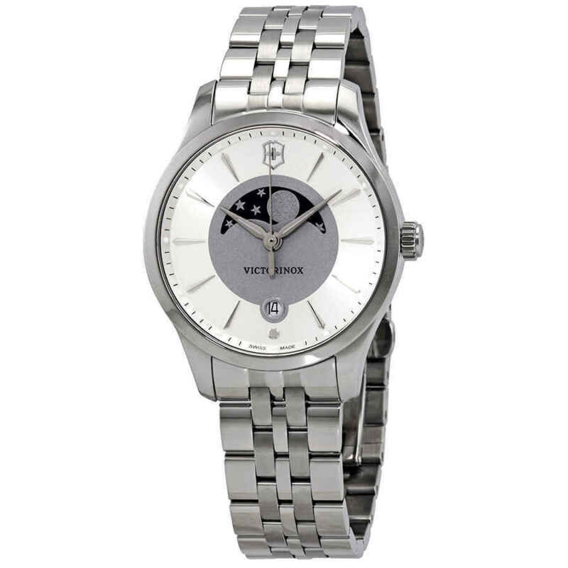 Victorinox-Alliance-Silver-and-Grey-Dial-Ladies-Watch-241833