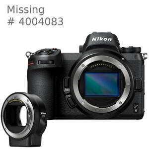 Nikon Z6 body ** missing ** serial number 4004083