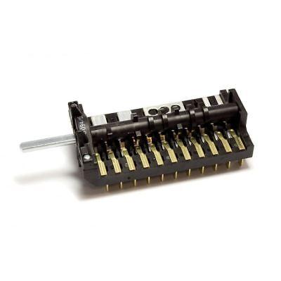 Genuino SMEG Horno Cocina Función Interruptor Selector Conmutador 811730278