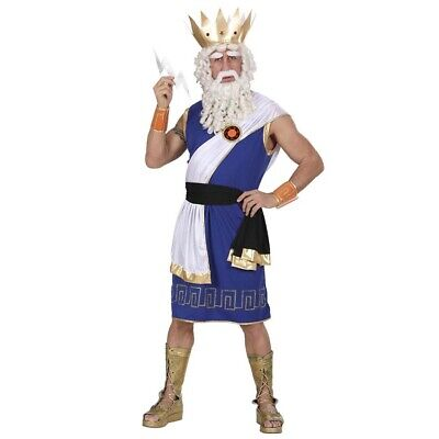 HERREN ZEUSKOSTÜM # Karneval Göttervater Griechischer Götter Grieche Zeus Kostüm (Zeus Griechische Kostüm)