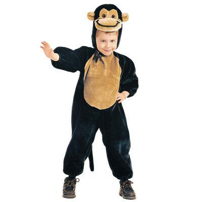 AFFEN PLÜSCHKOSTÜM # Karneval Kinder Plüsch Tier Kostüm Jungen Mädchen 110 3641