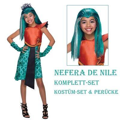 CLEOPATRA KOSTÜM & PERÜCKE Kinder Monster High Nefera - Monster High Kostüme Nefera De Nile