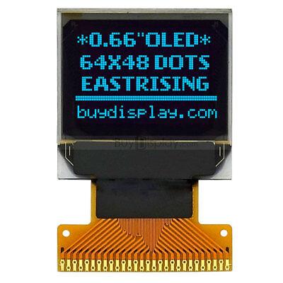 Serial Spi I2c Blue 0.66 Lcd Led Oled Display Module 64x48 Ssd1306 Wtutorial