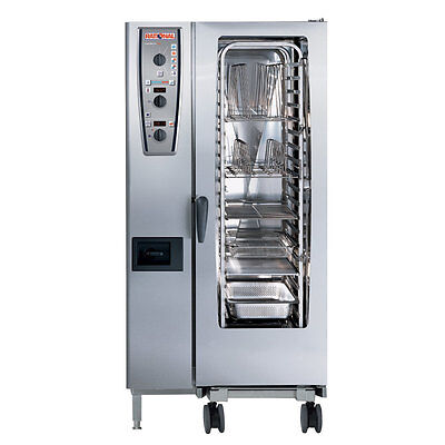 Rational Model 201 A219106.12.202 Electric Combi Oven With Twenty Half Size She