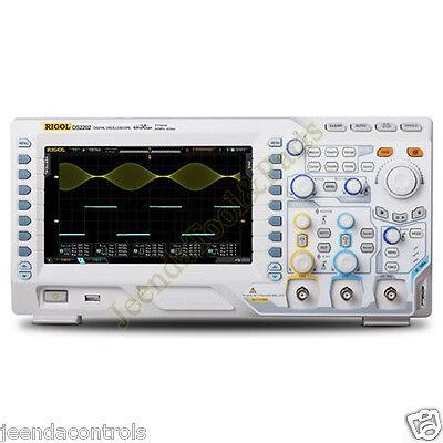 New Rigol Digital Oscilloscope Ds2202a 200mhz 2 Channel 2gsas 8tft 50k Wfmss