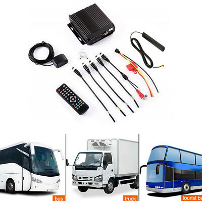Eclipse 2 Way Radio - 4-way 720P Car DVR SD 4G Wireless GPS Antenna Realtime Video Recorder Box Remote