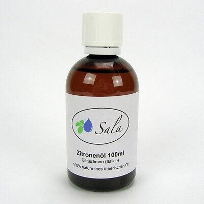 (6,90/100ml) Sala Zitronenöl naturreines ätherisches Zitrone Citrone Öl 100 ml