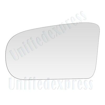 (REPLACEMENT-MIRROR-GLASS+ADHESIVE PAD~POWER/CABLE ADJUSTMENT LEFT DRIVER SIDE)