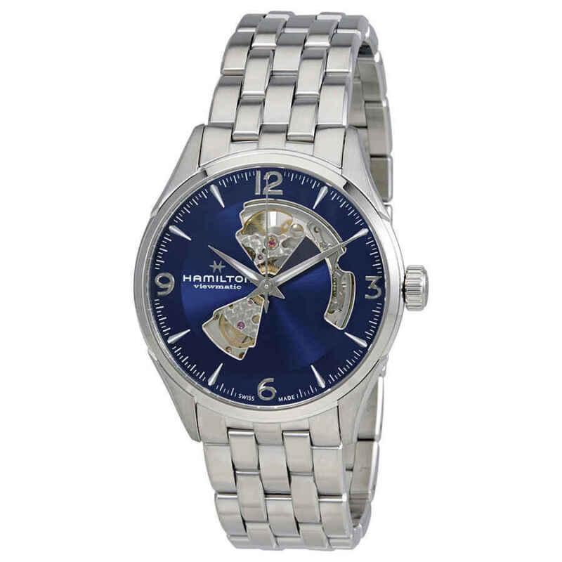 Hamilton-Jazzmaster-Automatic-Open-Heart-Blue-Dial-Men-Watch-H32705141