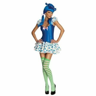 Blueberry Muffin Strawberry Shortcake Adult Costume (E) - Strawberry Adult Costume