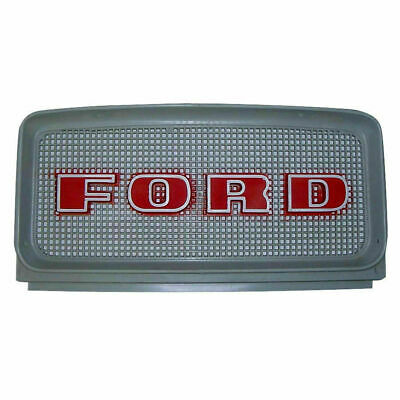 C9nn8a163ag Ford Front W Red Letters Grille Models 2000 3000 4000 4200 5000
