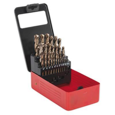 Boxed Cobolt Drill Set 25 Piece - Metric - 1mm - 13mm