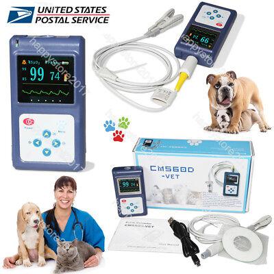 Animal Vet Veterinary Pulse Oximeter Cms60d-vettongue Spo2 Probepc Sw Us Fda
