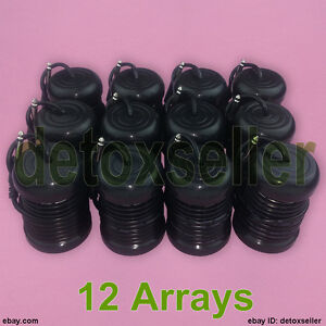 New-12-Pack-Round-Array-Arrays-For-Aqua-Ionic-Detox-Foot-Spa-Bath-Machine