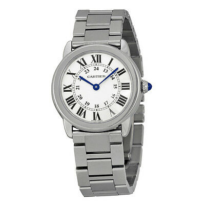 Cartier Rondo Solo de Cartier Stainless Steel Ladies Watch W6701004