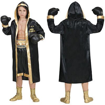 KINDER BOXERKOSTÜM # Boxer Mantel Umhang Boxhandschuhe Short Jungen Kostüm 1929