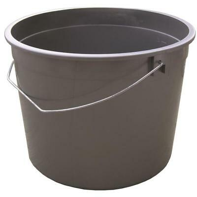 Plastic Bucket Reinforced Metal Handle BPA-Free General Purpose - Plastic Bucket