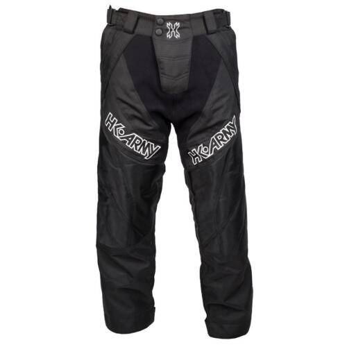 HK Army HSTL Line Paintball Pants - padded - Black - Youth NEW