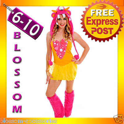 J48 Kigurumi Shaggy Shelly Monster Animal Halloween Costume Fancy Dress Outfit