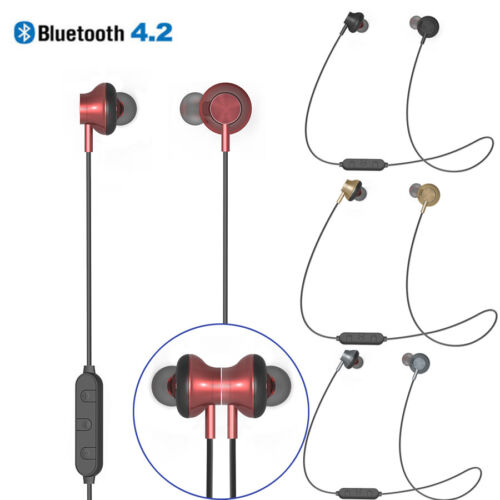 BT-08 Wireless Neckband Sport Bluetooth Headset Stereo Headp