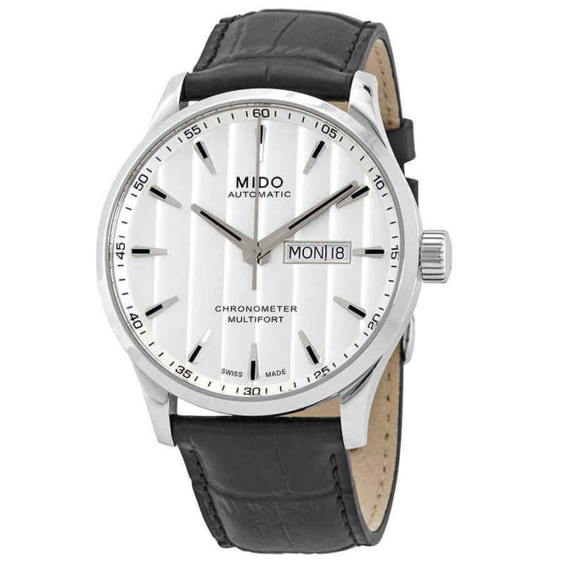 Mido Multifort Automatic Silver Dial Men Watch M0384311603100