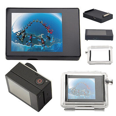 GoPro LCD BacPac Display View Monitor Non-Touch Screen For Hero 3+ USA