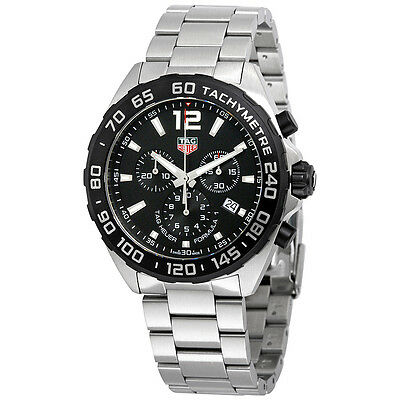 Tag Heuer Formula 1 Chronograph Black Dial Mens Watch CAZ1010.BA0842