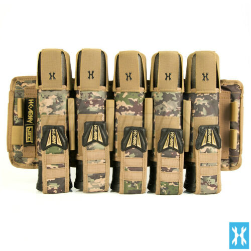 HK Army Eject Harness HSTL Camo 5+4+4 **FREE SHIPPING** Paintball Pod Pack