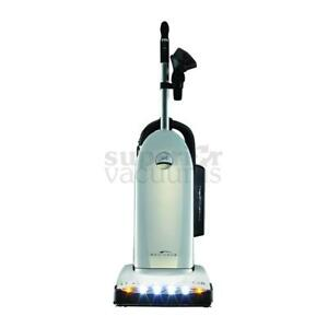 Radiance Premium Tandem Air Upright Vacuum Hepa Filtration Dirt Sensor Pearl Color 6 Year Warranty Floor Selector