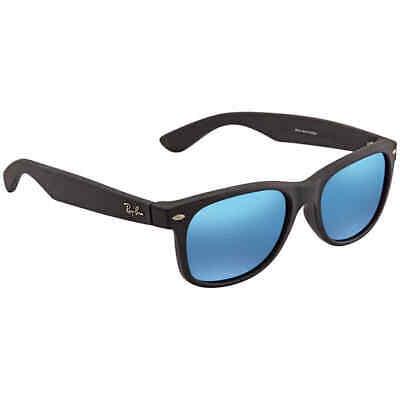 Ray Ban New W-r Flash Blue Flash W-r Men's Sunglasses RB2132F 622/17 (Wayfarers Sunglasses Cheap)