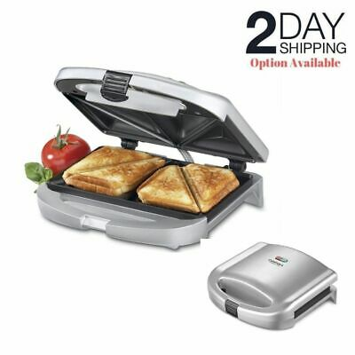 - Electric Sandwich Maker Grill Deep Nonstick Dual French Toast Breakfast Cooker