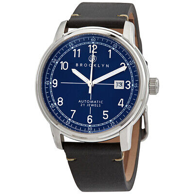 Brooklyn Watch Co. Gowanus Automatic Blue Dial Men's Watch 8600A3