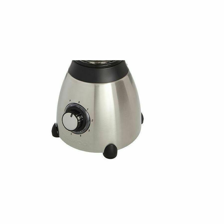 Daewoo 1.5l 500w 6 Blade Glass Jug Blender Food Processor Smoothie Ice Crusher