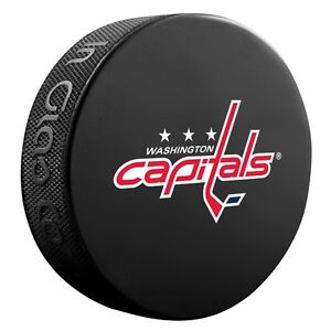 Washington Capitals Basic Style Hockey Puck (New)
