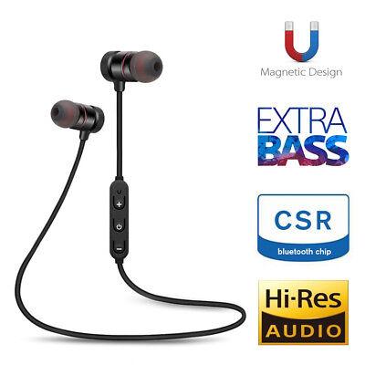 Bluetooth 4.2 Waterproof Earphone Magnetic Sports Running Headphone Headset